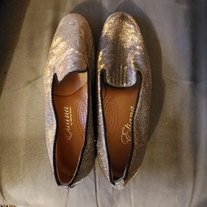 Sparkly loafers